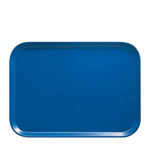 Cambro Manufacturing 1418FF168 Fast Food Tray Blue 14'' x 18