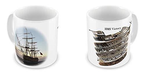 PIHJE mugs HMS Victory Ship Novelty Gift ()