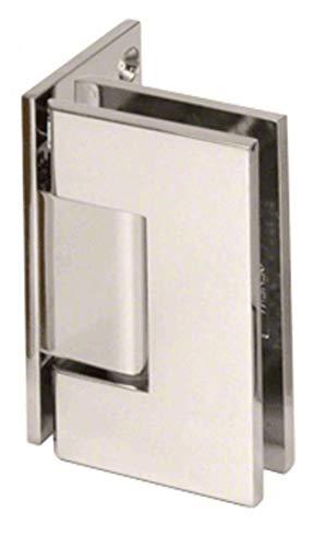 C.R. LAURENCE GEN544PN CRL Polished Nickel Geneva 544 Series Wall Mount Offset Back Plate Hinge