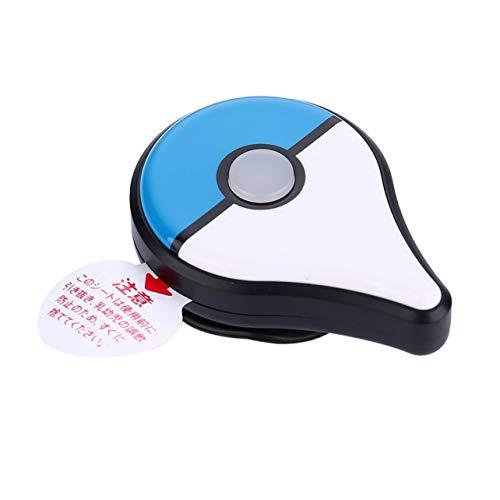 (WOSOSYEYO Smart Bluetooth Bracelet for Pokemon GO Plus Wristband Interactive Figure Toy(Color:Blue&White))