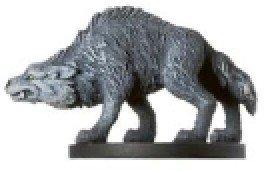 D & D Minis: Timber Wolf # 27 - Deathknell by D & D Minis