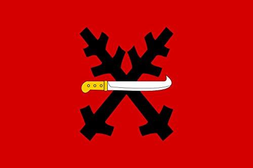 Magflags Large Flag Vojn V M Stec    Erven  List Se Dv Ma Zk   En Mi  Ern Mi Ostrvemi   Landscape Flag   1 35Qm   14 5Sqft   90X150cm   3X5ft    100  Made In Germany