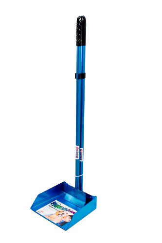 Flexrake 67WB Blue Panorama Small Pan and Spade Set with 3-Inch Aluminum Handle ()