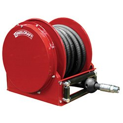 Reelcraft FSD14035 OLP Spring Retractable Fuel Hose Reel, 1