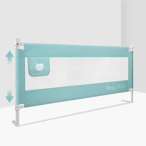 Guard Rail Lock (AIBAB Child Bed Railing Bedside Baffle Guardrail Fence 8 Adjustments 1.8-2m)