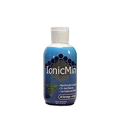 IonicMin Mineral Supplement - Natural Balanced pH - 3 Ounce
