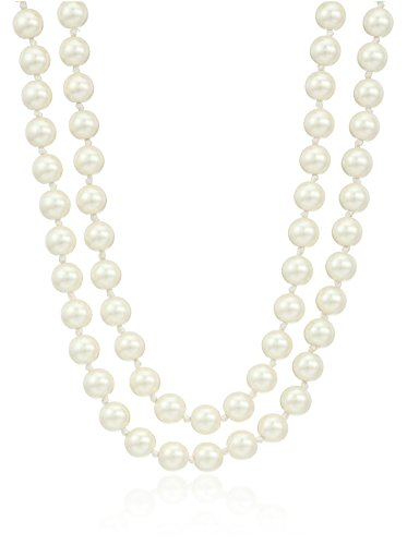 kate spade new york Pearl Long Cream Necklace, 60