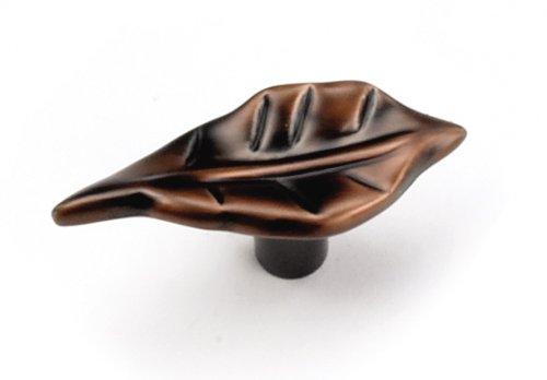 - Laurey 24977 Cabinet Hardware 2-Inch Leaf Knob, Venetian Bronze