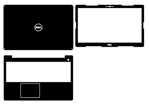 - Special Laptop Black Carbon fiber Vinyl Skin Stickers Cover for Dell Inspiron i5570 5570 i5575 5575 15.6