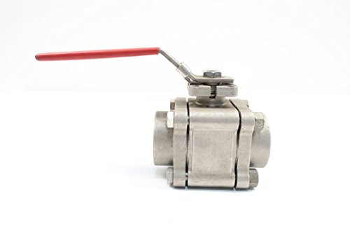 KF CONTROMATICS Y90-M2 NPT STAINLESS THREADED 1-1/2IN BALL VALVE D602044 from K F Contromatics
