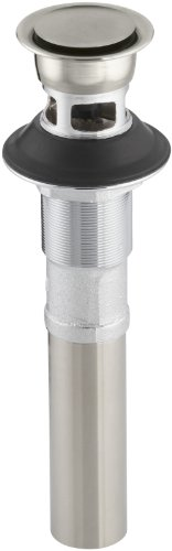(KOHLER K-7124-A-BN Pop-Up Clicker Drain, Vibrant Brushed Nickel)