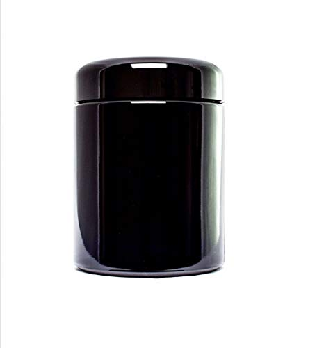 MIRON Violettglas 250ml-Ultraviolet Storage Container | Airtight Smell Proof | Screw Top ()