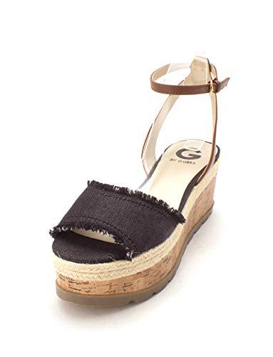 Blue Guess US Fabric Dark Sandales pour Frauen Femme gxpnYpW1