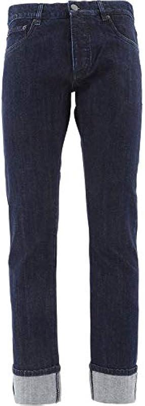 Prada Luxury Fashion męskie jeansy GEPX961UO8F0008 niebieskie   wiosna lato 20 - niebieski: PRADA: Odzież