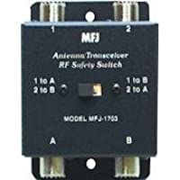 MFJ-1703 Antenna/radio switch HF dual 2-pos 300W