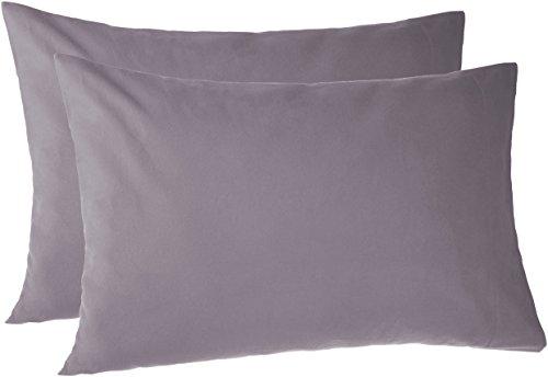Pinzon 170 Gram Flannel Pillowcases - Standard, Graphite
