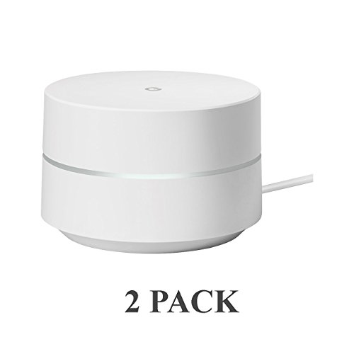 2-Pack Google Wifi AC1200 Replacement Router for Whole Home