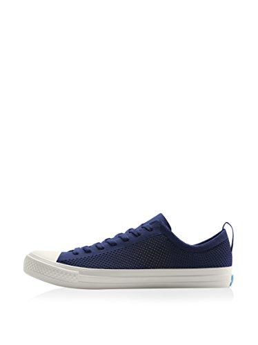People Footwear Mens Phillips 3D Printed Mesh Fashion Sneakers Mariner Blue   Picket White 8 D M  Us