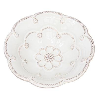 Juliska Jardins du Monde White Blossom Bowl 5 Inches