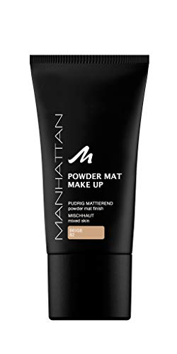 - Powder Mat Make Up By Manhattan Cosmetics