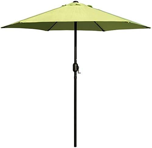 ABBLE Outdoor Patio Umbrella 7.5 Ft