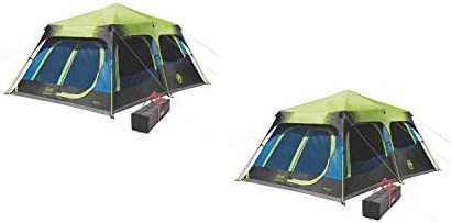 Coleman Cabin Tent with Instant Setup|Cabin Tent for Camping Set Up in 60 Second