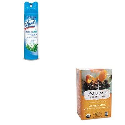 KITNUM10240RAC76938EA - Value Kit - Numi Organic Tea Organic Teas and Teasans (NUM10240) and Neutra Air Fresh Scent (RAC76938EA) by Numi Organic Tea