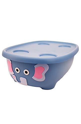 (Prince Lionheart Tubimal Infant & Toddler Tub Lid and Hammock, Elephant)