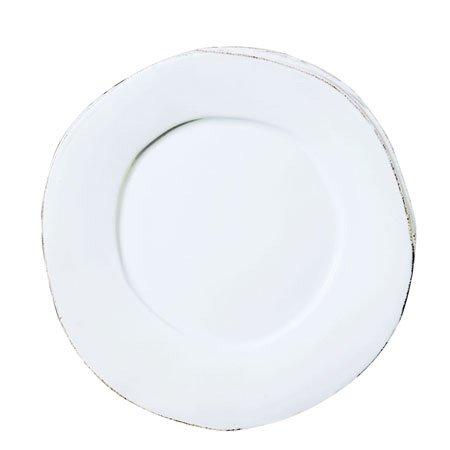 Lastra 12\u0026quot; Dinner Plate Color White  sc 1 st  Amazon.com & Amazon.com | Lastra 12\