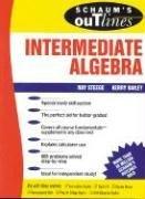 Schaum's Outline of Intermediate Algebra by SteegeRay BaileyKerry Steege Ray Bailey Kerry (1997-04-01) Paperback