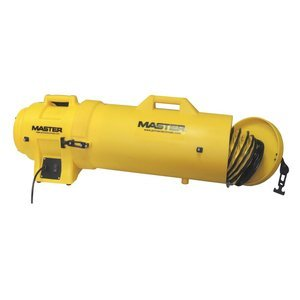 Master MB-P0813-DC25 Blower, 8″, 1/3 hp, 115V, with Attachable Duct Canister and 25′ Duct For Sale