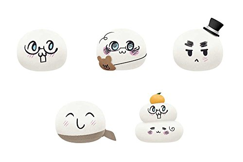 Kotobukiya hetalia Axis Powers tenori mochi cushion vol.1 1BOX = 6 pieces with all five