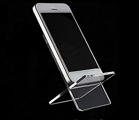 Detachable X-Type Acrylic Mobile Cell Phone Holder Wallet Jewelry Sandal Display Stand Rack 2Sets //LOT YongPan Combined Cross Acrylic Display Stand 2.17x1.97x3.35inch