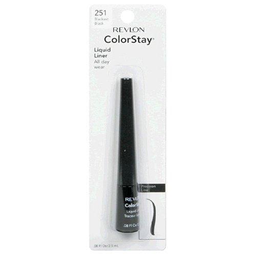 Revlon ColorStay Liquid Liner Blackest