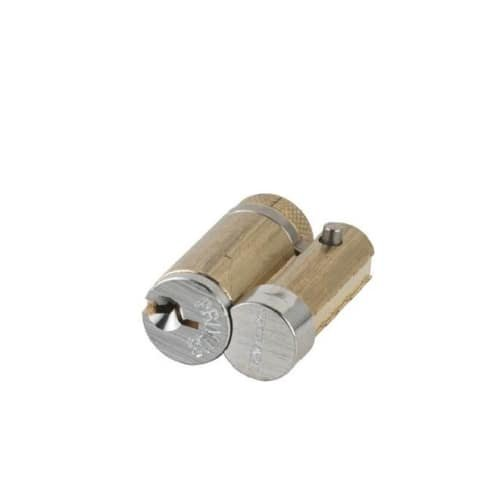 Schlage 20-740E Primus Everest Keyway Full Size Interchangeable Cylinder - Keys, Satin Chrome ()
