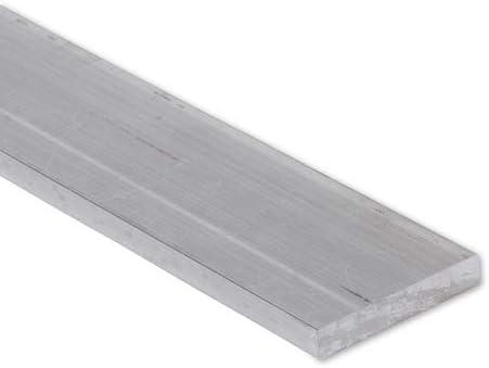 6 FT 1 x 1//8 Aluminum Flat Bar 6063 Alloy T-6 Temper