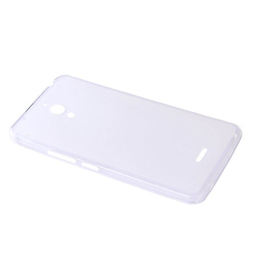 Lusee® (Solo para 3G Versión) Funda de silicona para Alcatel One Touch Pixi 4 6.0 8050D 3G (6 pulgada) Suave Cascara TPU blanco semi transparente