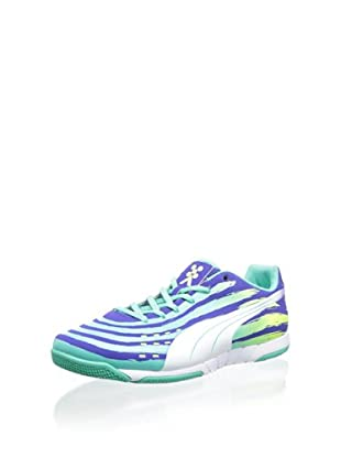 PUMA Men s Trovan Lite Soccer Shoe (Spectrum Blue White Electric Green) 3d39e79e1
