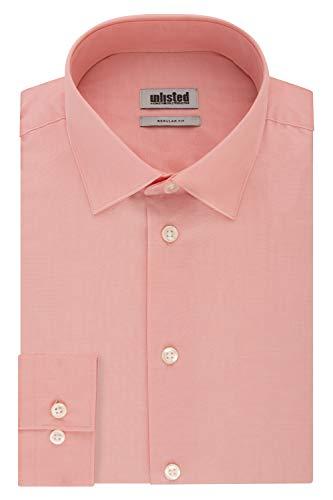 Kenneth Cole Unlisted Men's Dress Shirt Regular Fit Solid 1