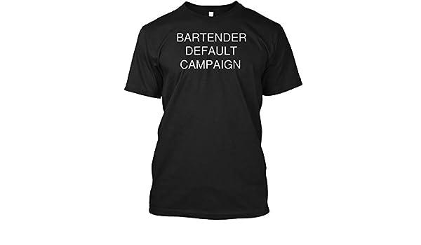 Crazy Bartender Hanes Tagless Tee T-Shirt