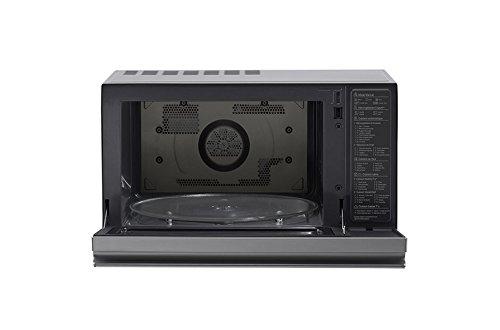 LG MJ3965ACS Horno microondas 4 en 1 Smart Inverter, convección máxima 1850 W, grill 950 W, microondas 1100 W y 39 l de capacidad, acero Inoxidable: ...