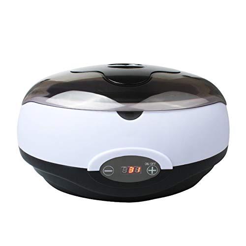 DEH Digital Display Warmer Wax Heater SPA Hand Epilator Feet Paraffin Wax Machine - Black & White(US)
