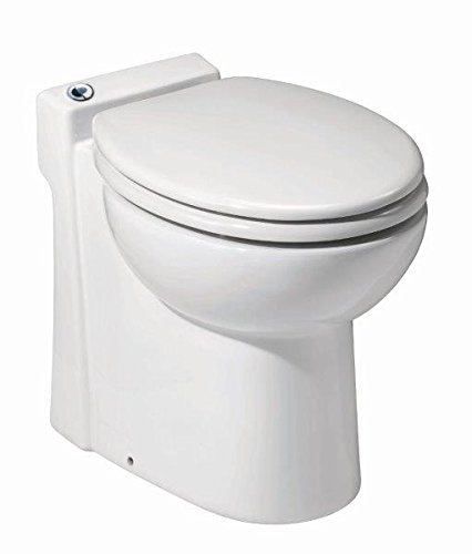 1. Saniflo Sanicompact One Piece Toilet