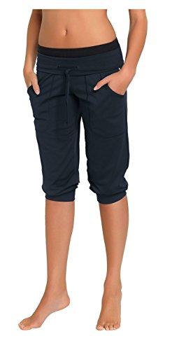 Gwinner Mujeres Fitness Sport Pantalones cortos Roma Gris