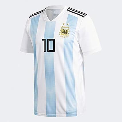 3a92d733e42 MALAGE Football Jersey Argentina Jersey World Cup National Team Home  Football Uniform Short-Sleeved Suit