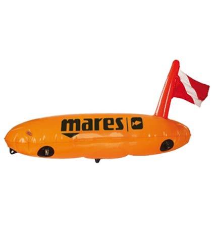 Mares Buoy Torpedo Flotador de Pesca con Bandera Hinchable: Amazon ...