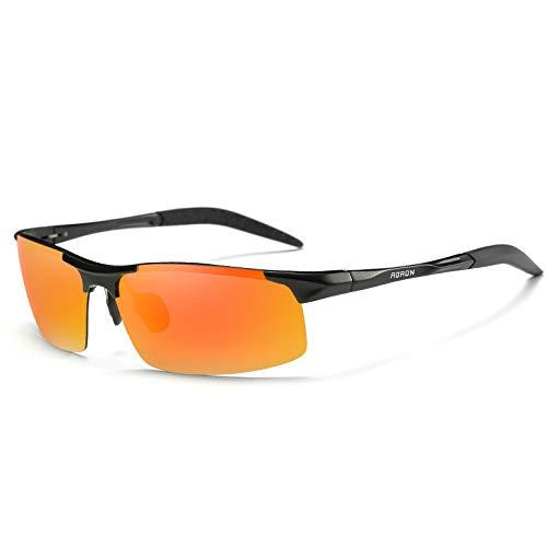 Lunettes HD Soleil Lunettes magnésium G UV400 Vision polarisées Anti sunglasses pour Sport de Protection Sport de Homme Reflets Aluminium Mjia FY8xZn