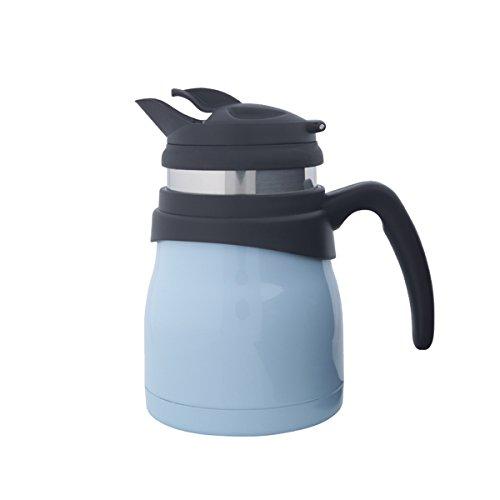 Timolino PCE-52VTEGPB 20-Ounce Travette Coffee and Tea Maker, Pastel Blue