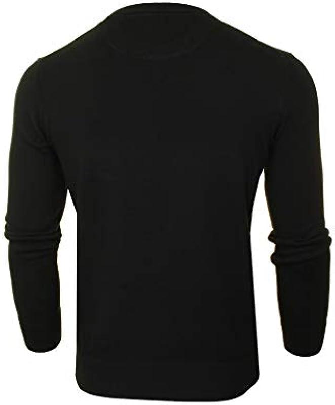 Timberland Williams River Cotton Crew Sweater' męski sweter z okrągłym dekoltem (czarny) XXL: Odzież