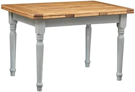 Biscottini - Mesa extensible de madera maciza de tilo - Estilo ...